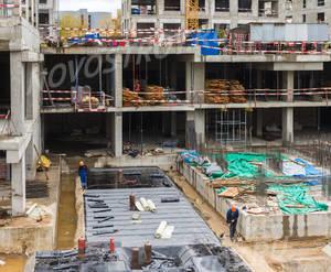 ЖК «Серебряный парк»: ход строительства корпуса №5