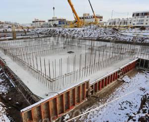 МЖК «Малина»: ход строительства корпуса №5.7