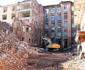 ЖК «Георг Ландрин»: ход строительства (ноябрь 2018)