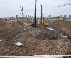 ЖК «Мякинино парк»: ход строительства строения №1.1