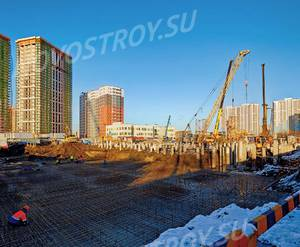 ЖК «Звездный дуэт»: ход строительства дома №1