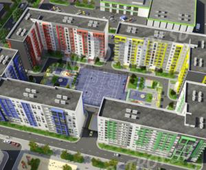 ЖК «АРТ квартал»: визуализация