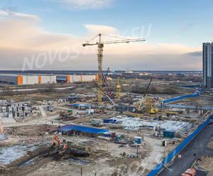 ЖК ЦДС «Приневский»: ход строительства корпуса №4