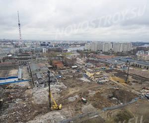 ЖК ЦДС «Черная речка»: ход строительства корпуса №3,4