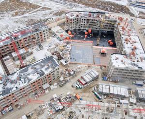 МЖК «Неоклассика-2»: ход строительства (декабрь 2018)