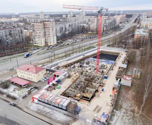 ЖК «Аист»: ход строительства (декабрь 2018)