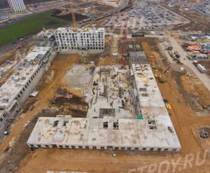 ЖК «Саларьево парк»: ход строительства корпуса №18.2
