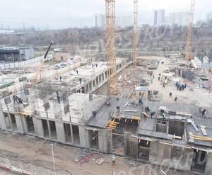 ЖК «Домашний»: ход строительства 2 очереди, корпус №3