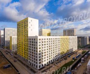 ЖК «Бунинские луга»: ход строительства корпуса №1.7