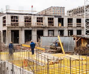 МФК Лофт-проект «Docklands»: ход строительства корпуса №1