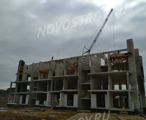МЖК «Сказка»: ход строительства корпуса №40