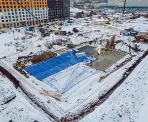 ЖК «Полярная 25»: ход строительства корпуса №5