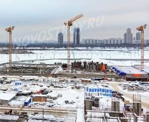 ЖК «Город на Реке Тушино-2018»: ход строительства 4 квартала