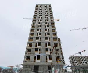 ЖК «Кварталы 21/19»: ход строительства корпуса №10