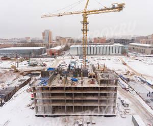 ЖК «Михайловский парк»: ход строительства корпуса №3