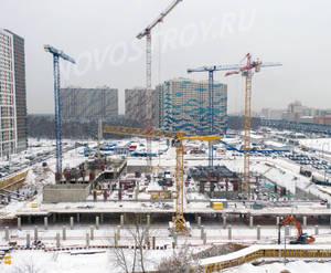ЖК «Оранж Парк»: ход строительства корпуса №7