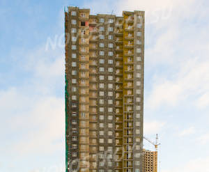 ЖК «Новая Охта»: ход строительства дома 11