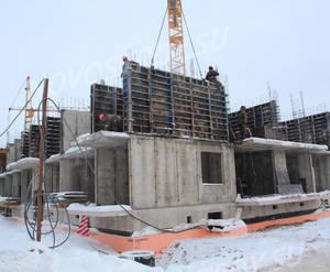 МЖК «Новый Петергоф»: ход строительства корпуса №5.3 из группы застройщика