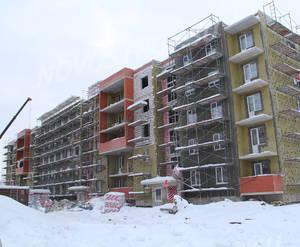МЖК «Новый Петергоф»: ход строительства корпуса №5.5 из группы застройщика