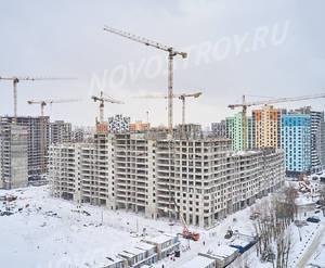 ЖК «Лучи»: ход строительства корпуса №3