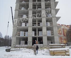 ЖК «Новые Островцы»: ход строительства дома №15