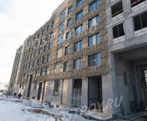 ЖК «Домашний»: ход строительства 2 очереди, корпус №1