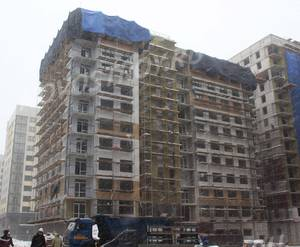ЖК «Испанские кварталы»: ход строительства дома №7.3