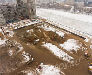 ЖК «Западный порт»: ход строительства блока №2.1