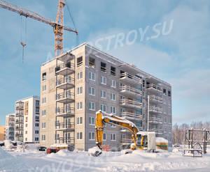 ЖК «Gröna Lund»: ход строительства 6 очереди