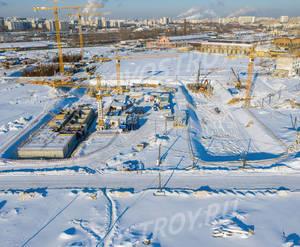 ЖК «Люблинский парк»: ход строительства блока №2