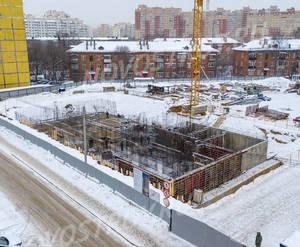 ЖК «Кузьминский лес»: ход строительства корпуса №1