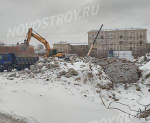 ЖК «Рихард»: ход строительства корпуса №1
