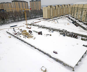 ЖК «Афродита-2»: ход строительства корпуса №18-19