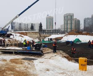 ЖК «Aquatoria»: ход строительства корпуса №B2