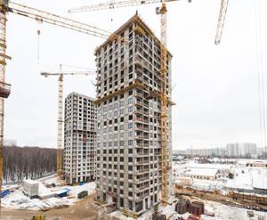 ЖК «Лесопарковый»: ход строительства корпуса №3
