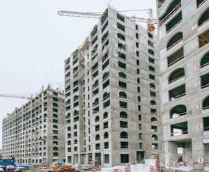 ЖК «Серебряный парк»: ход строительства корпуса №2