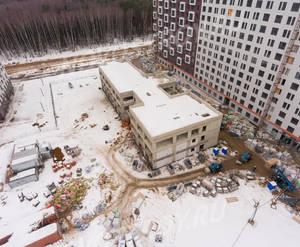 ЖК «Саларьево парк»: ход строительства детского сада
