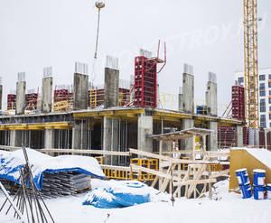 ЖК «Ильинские луга»: ход строительства корпуса №35