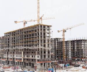 ЖК «Остафьево»: ход строительства корпуса №1