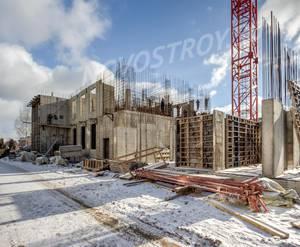 ЖК «Аист»: ход строительства (март 2019)
