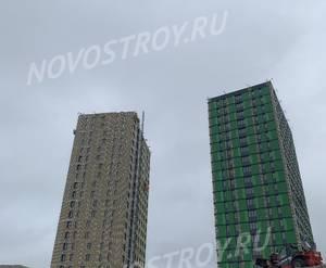 МФК «Citimix»: ход строительства корпуса №1,2