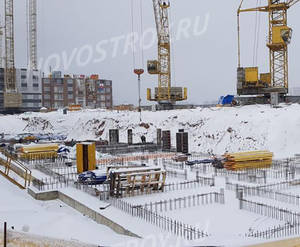 ЖК «Южная Битца»: ход строительства корпуса №1
