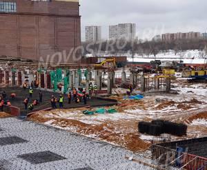 ЖК «Aquatoria»: ход строительства корпуса №B1