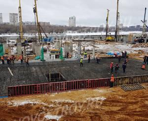 ЖК «Aquatoria»: ход строительства корпуса №C1