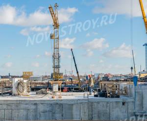 ЖК «Новые Ватутинки» (мкр-н. Центральный): ход строительства корпуса №1/2