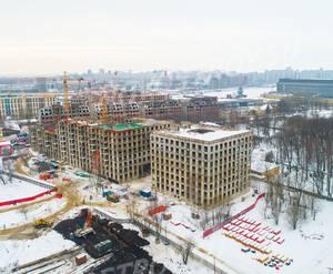 ЖК Neva Haus: ход строительства за февраль 2019 года