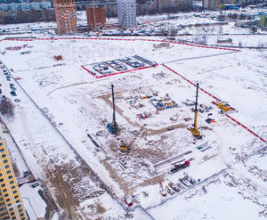 ЖК «Цивилизация»: фото с хода строительства корпуса 11