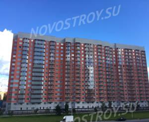 ЖК «на Новоколомяжском проспекте, 18»: последнее фото с хода строительства