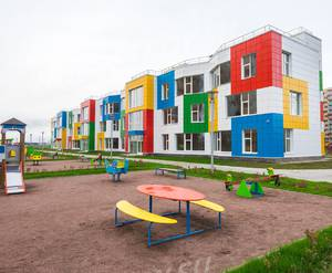 ЖК «Мурино 2020»: ход строительства детского сада