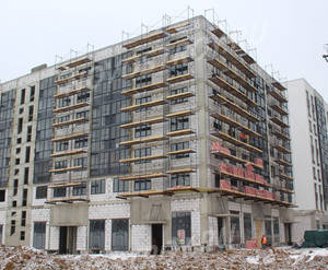 ЖК «Испанские кварталы»: ход строительства дома №9.3